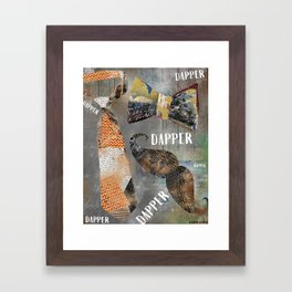 Dapper Framed Art Print