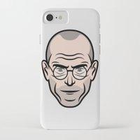 steve jobs iPhone & iPod Cases featuring STEVE JOBS by Kojó Tamás