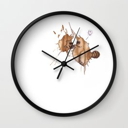 the coffeemonsters 222 Wall Clock