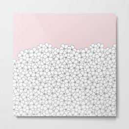 Forget Pink Boarder 2 Metal Print