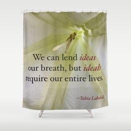 Ideas & Ideals Shower Curtain