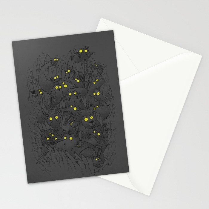 Night Safari Stationery Cards