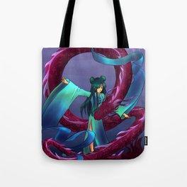 Dancing Dragon Tote Bag