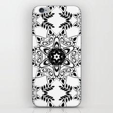 Monochrome, black and white pattern. iPhone & iPod Skin