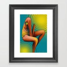 'Faceless' Part III Framed Art Print