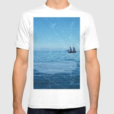 Old Man and the Sea Mens Fitted Tee White SMALL