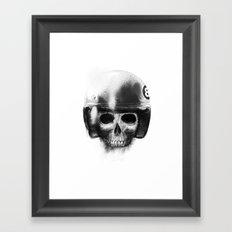 death racer Framed Art Print