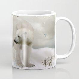 Awesome polar bear Coffee Mug
