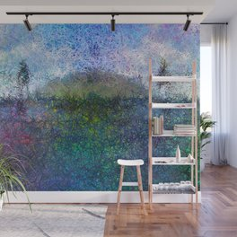 The Hill - Abstract Modern colourful Wall Mural