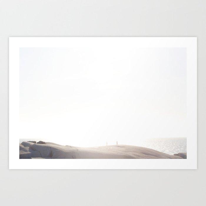 Cove's Edge Art Print