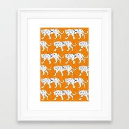 Tiger Print Framed Art Print