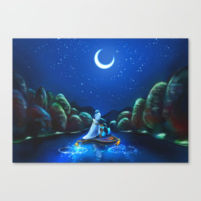 A Wondrous Place Canvas Print
