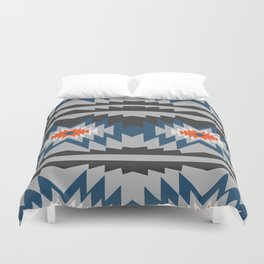 Wintry ethnic pattern Duvet Cover