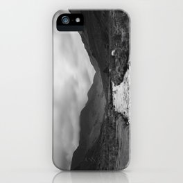 Sheep in the valley. Honister Pass. Lake District. iPhone Case