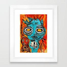 Blue Devil Framed Art Print