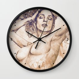 Remembering Days Of Yore: Sunset Wall Clock