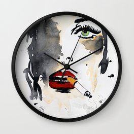 Ava. Wall Clock