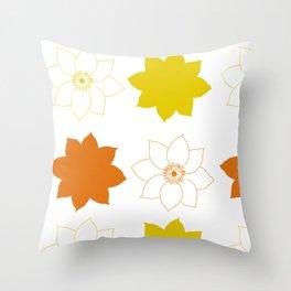 Flor Pxrn Throw Pillow