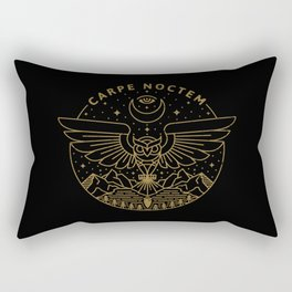 Carpe Noctem Rectangular Pillow