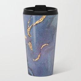 Mojave Purple Turquoise - an original encaustic painting Travel Mug