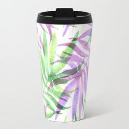 Watercolour Palm Print Travel Mug