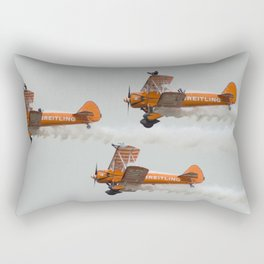 Dancing on Planes Rectangular Pillow