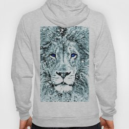 LION ABSTRACT Hoody