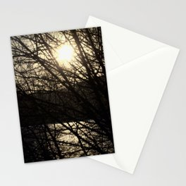 Sunset Abstract Stationery Cards