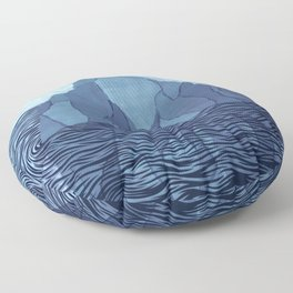Iceberg Floor Pillow