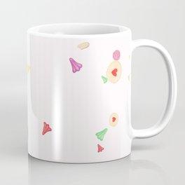 Kiwi Lollies and Biscuits - Pink Coffee Mug