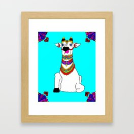 The Holy Cow Framed Art Print