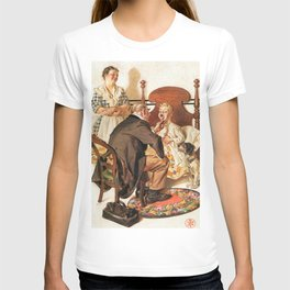 12,000pixel-500dpi - Joseph Christian Leyendecker - Hospital Bed - Digital Remastered Edition T-shirt