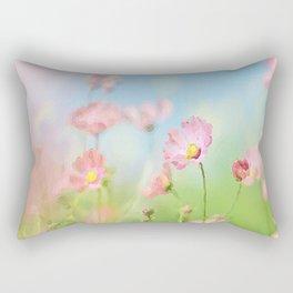 Cosmos bipinnatus Flowers Rectangular Pillow