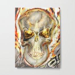 Ghost Rider The Spirit of Vengence Metal Print