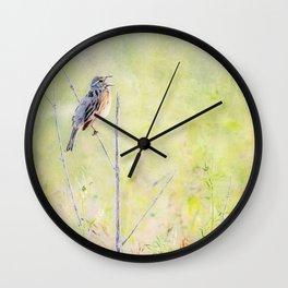 A CAPPELLA Wall Clock