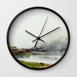 I Dream of Her Breath Wall Clock