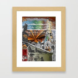 death and dying Framed Art Print