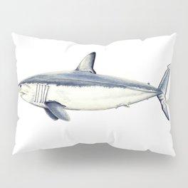 Mako shark (Isurus oxyrinchus) Pillow Sham