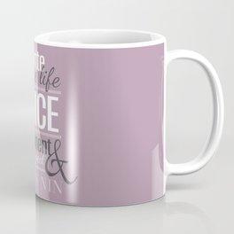 Typography - Anais Nin Coffee Mug
