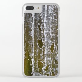 Holey Water Clear iPhone Case