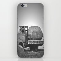 potato iPhone & iPod Skins featuring Spud Potato by Jane Lacey Smith