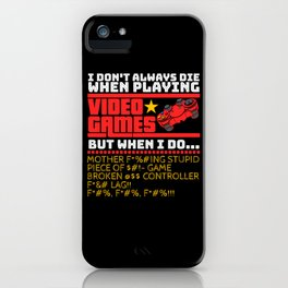 Video Games Online Internet Gaming Day iPhone Case