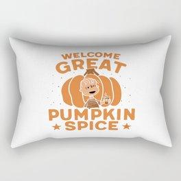 Great Pumpkin Spice Rectangular Pillow
