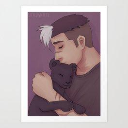 Shiro - Companion Art Print