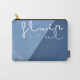 fluir azul Carry-All Pouch