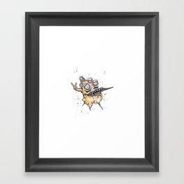 Peace Man Framed Art Print