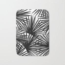Tropical Fan Palm Leaves #2 #tropical #decor #art #society6 Bath Mat