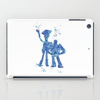 toy story iPad Cases featuring Woody and Buzz Toy Story Disneys by Carma Zoe