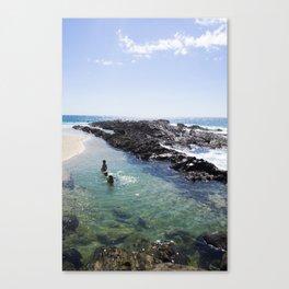 A Day at the Beach 4 Canvas Print