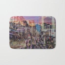 San Francisco city illusion Bath Mat